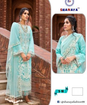 SHANAYA FASHION S 18 PAKISTANI SUITS WHOLESALER