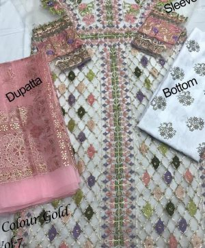 HOOR TEX 14001 A NAFIZA GOLD VOL 7 SINGLE PIECE