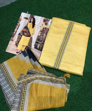 DEEPSY PANGHAT 46002 COTTON DUPATTA SUITS