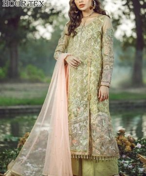 HOOR TEX 17010 GEORGETTE PAKISTANI SUIT IN SINGLE
