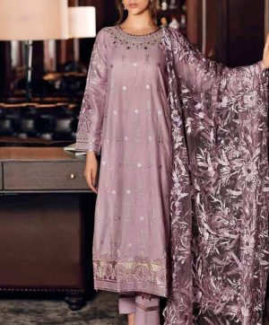 RAMSHA R 110 PAKISTANI SUIT IN SINGLE PIECE