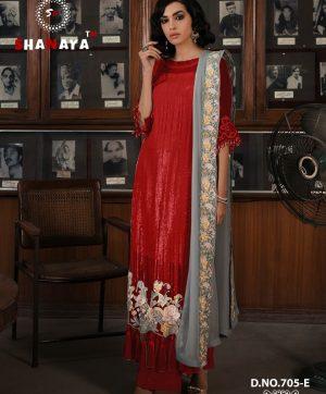 SHANAYA FASHION ROSE CRAFT 705 E PAKISTANI SUITS