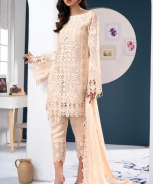 RAMSHA R 168 PAKISTANI SUITS SUPPLIER IN SINGLE