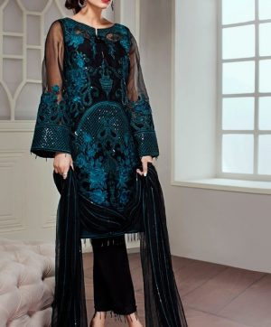 RAMSHA R 169 PAKISTANI SUITS SUPPLIER IN SINGLE