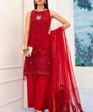RAMSHA R 170 PAKISTANI SUITS SUPPLIER IN SINGLE