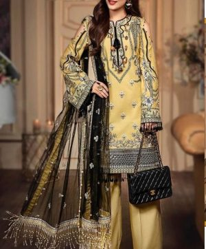 RAMSHA R 171 JAAM SILK PAKISTANI SUITS WHOLESALE
