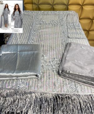 LAAIBAH DESIGNER ZF 07 GREY COLOR