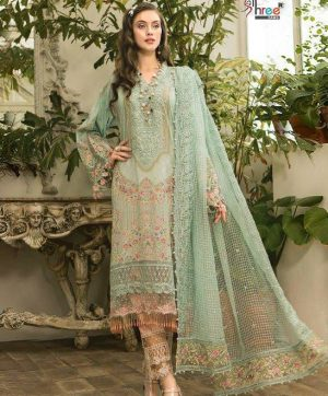 SHREE FABS MARIYA B LAWN VOL 2 1637 PAKISTANI SUIT