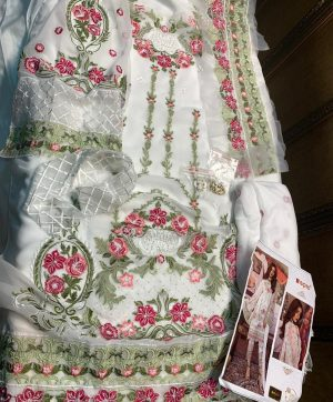 FEPIC FANTASY 55002 WHITE PAKISTANI SUIT