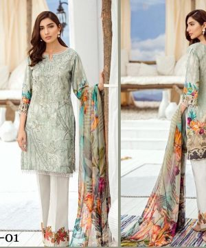 CS LUXURY LAWN FESTIVE COLLECTION F 01
