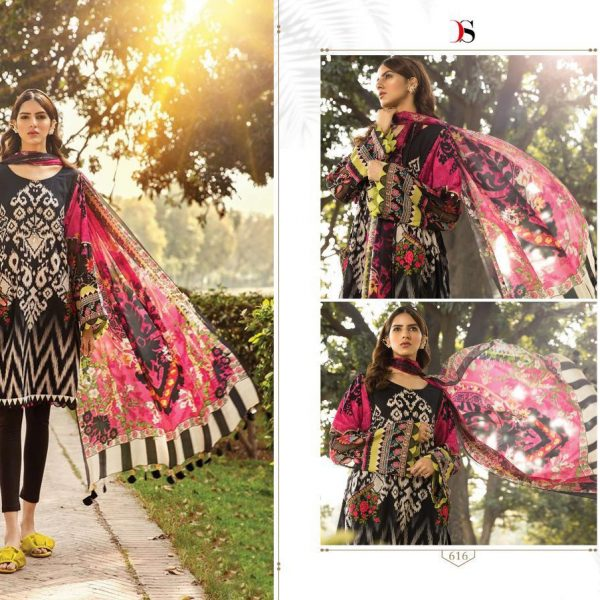 DEEPSY M PRINT 2020 COTTON PAKISTANI SUIT IN SINGLE2
