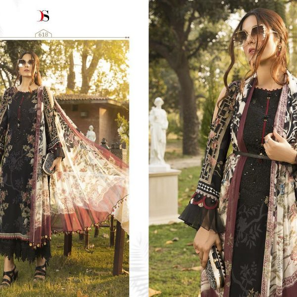 DEEPSY M PRINT 2020 COTTON PAKISTANI SUIT IN SINGLE9