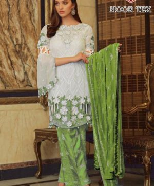 HOOR TEX BEAUTIFUL 14004 D PAKISTANI SUIT WHOLESALER