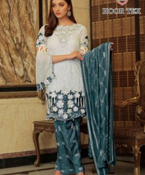 HOOR TEX BEAUTIFUL 14004 B PAKISTANI SUIT WHOLESALER