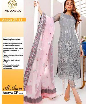 AL AMRA ANAYA ZF 11 PAKISTANI SUITS WHOLESALER
