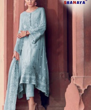 SHANAYA ROSE ESPOIR 801 A PAKISTANI SUITS WHOLESALER