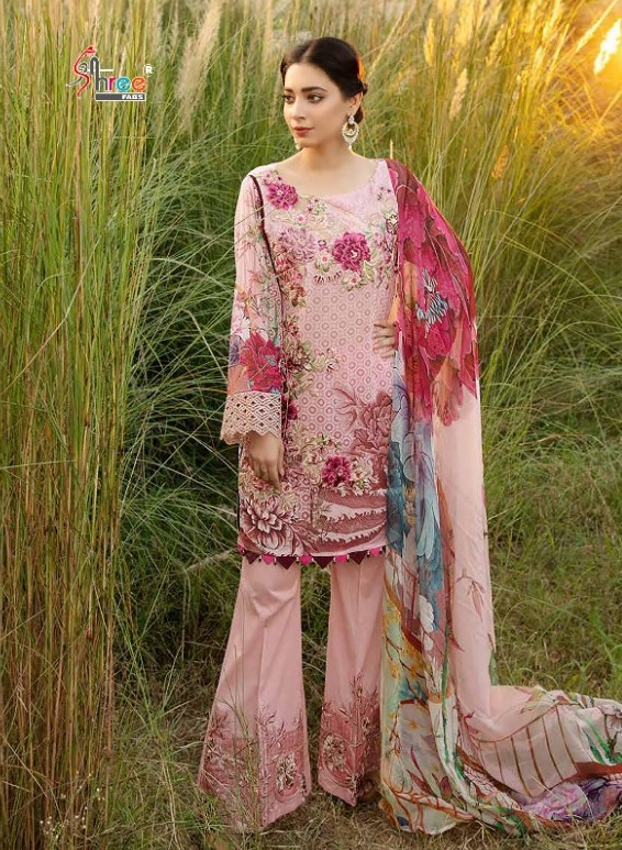 SHREE FABS RANG RASIYA DIGITAL LAWN 1221 WHOLESALE