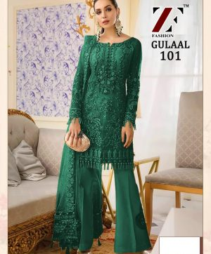 ZF FASHION GULAAL 101 PAKISTANI SUIT