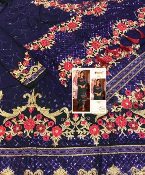 FEPIC FANTASY 55001 B BLUE PAKISTANI SUIT