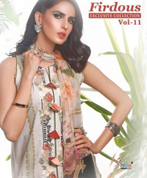 SHREE FABS FIRDOUS VOL 11 IN SINGLE PIECE