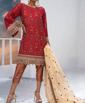 RAMSHA R 134 PAKISTANI SUITS WHOLESALER