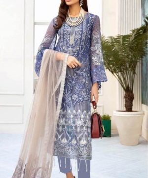 RAMSHA R 173 PAKISTANI SUITS WHOLESALER