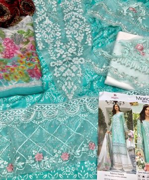 DEEPSY MARIA B LAWN VOL 3 696 COTTON SUIT