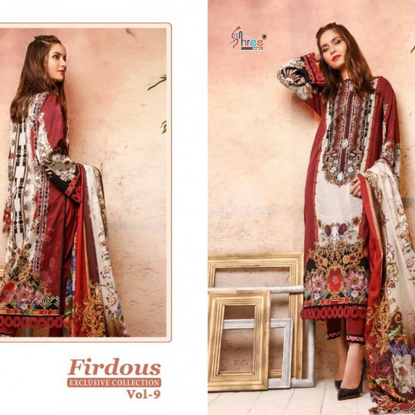 SHREE FABS FIRDOUS VOL 9 1293 PAKISTANI SUIT