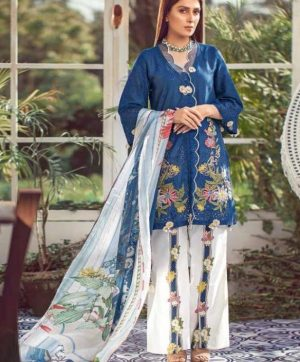 SANIYA TRENDZ LELAF PAKISTANI COTTON SUITS