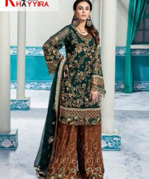 KHAYYIRA PAKISTANI SUITS IN SINGLE PIECE WHOLESALE