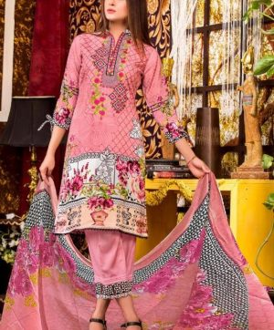 GULAHMED VOL 7 KARACHI PRINTED SUITS IN SINGLE
