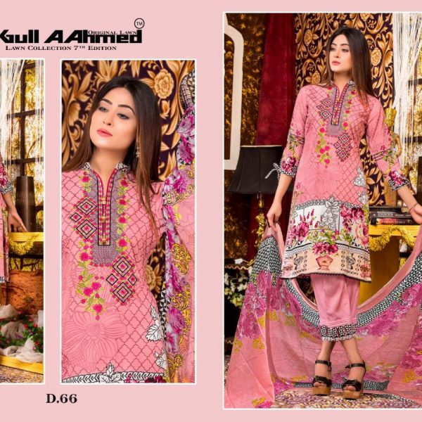 GULAHMED VOL 7 KARACHI PRINTED SUITS IN SINGLE 5