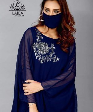 LAIBA AM VOL 38 KAFTAN WITH MASK