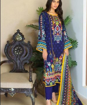 MARIYA B VOL 3 KARACHI SUIT IN SINGLE PIECE