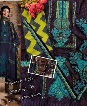 SHREE FABS MARIYA B 1655 COTTON SUITS WHOLESALE