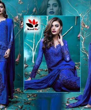 KILRUBA 501 B BLUE PAKISTANI SUIT ONLINE