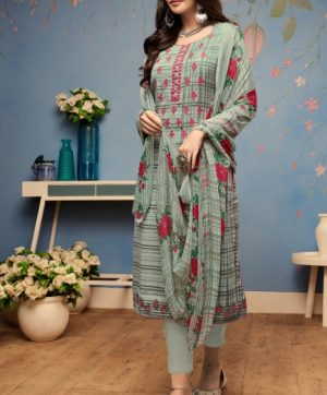 KESARI TRENDZ PASHMINA WINTER SUITS IN SINGLE