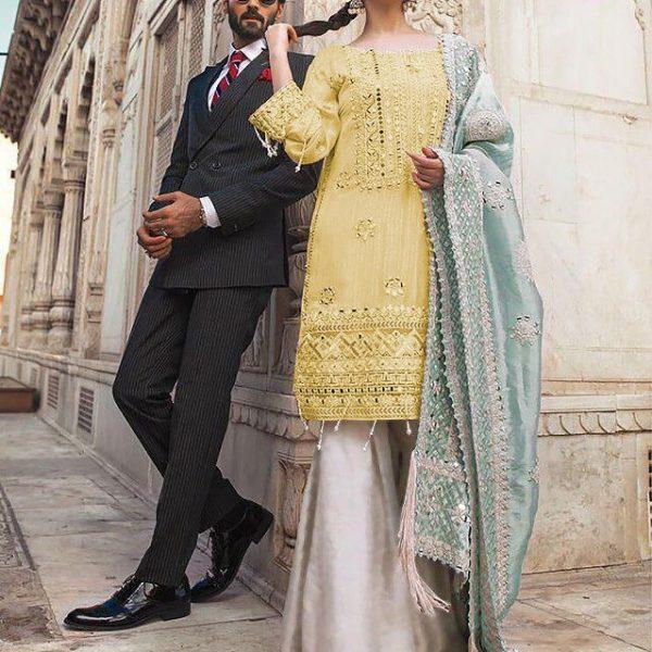 SHREE FABS RANG RASIYA WEDDING COLLECTION YELLOW