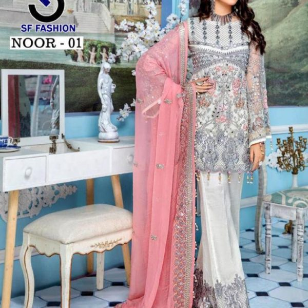 SF NOOR VOL 1 LATEST PAKISTANI SUIT WHOLESALER