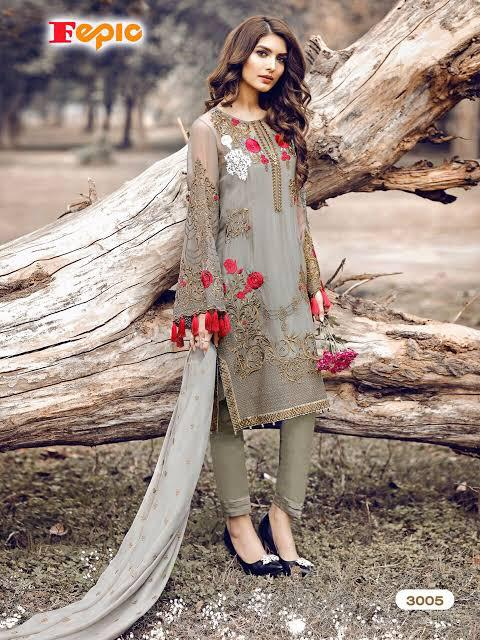 FEPIC ROSEMEEN 3005 PAKISTANI SUITS SUPPLIER