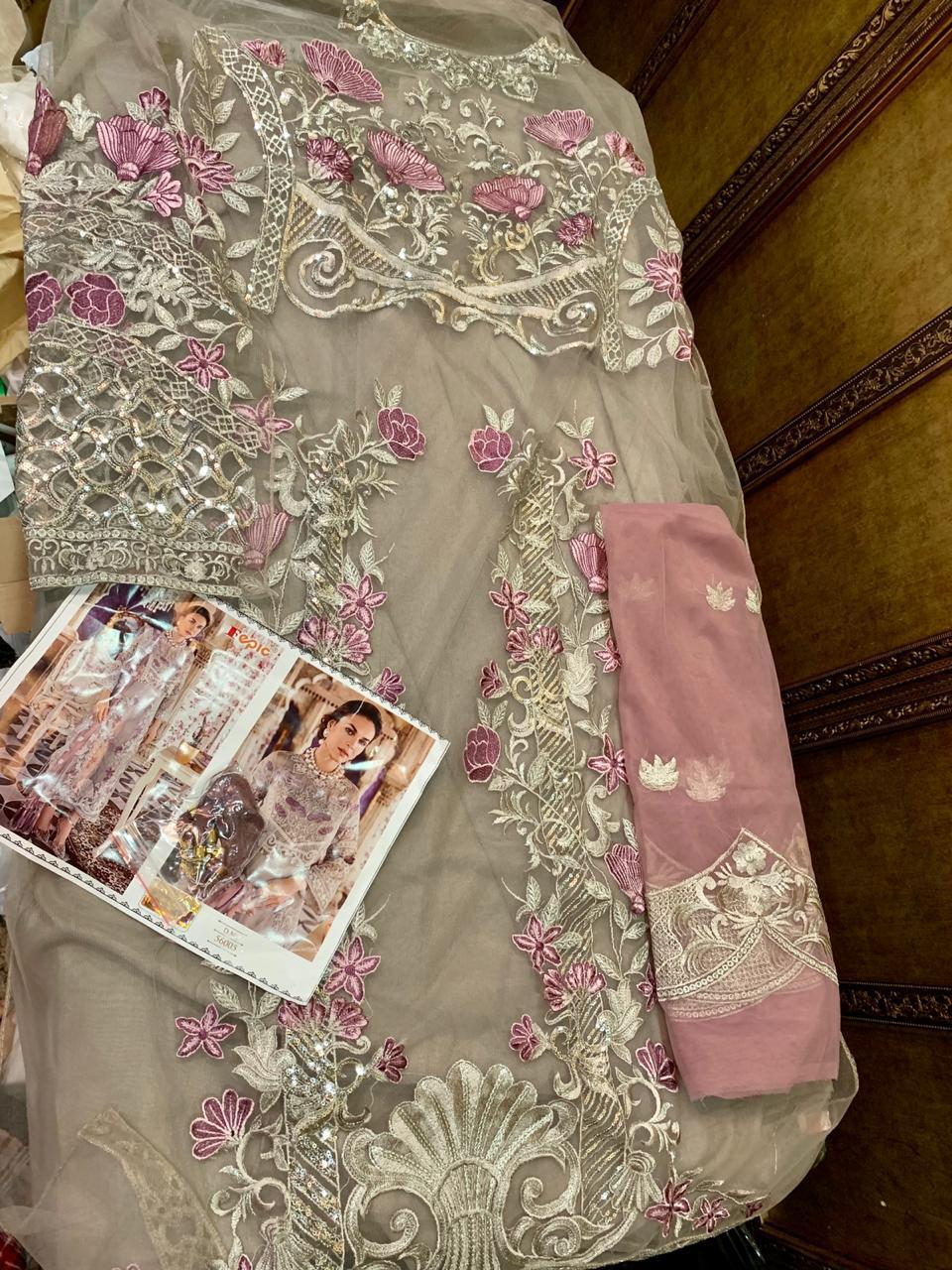 FEPIC 56005 PAKISTANI SUITS IN SINGLE PIECE