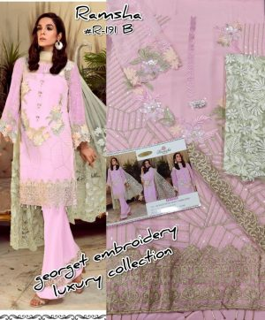 RAMSHA FASHION 191 LATEST PAKISTANI SUIT