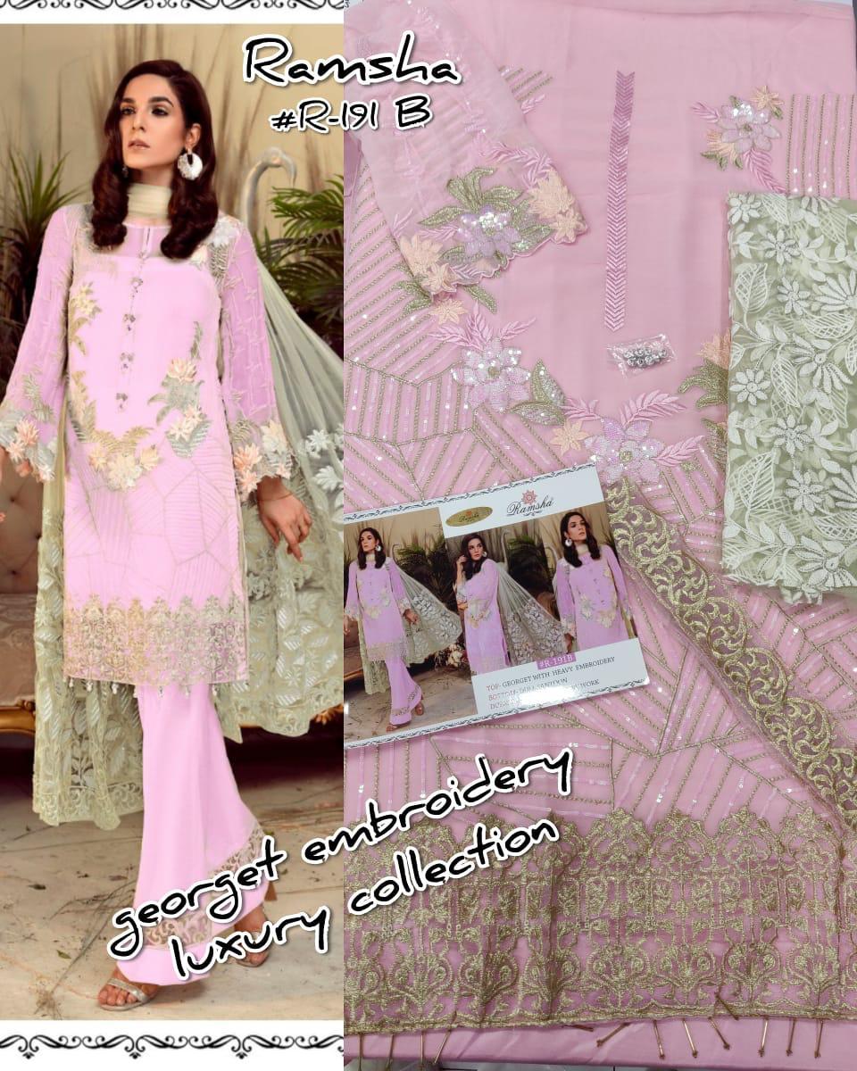 RAMSHA FASHION 191 LATEST PAKISTANI SUIT