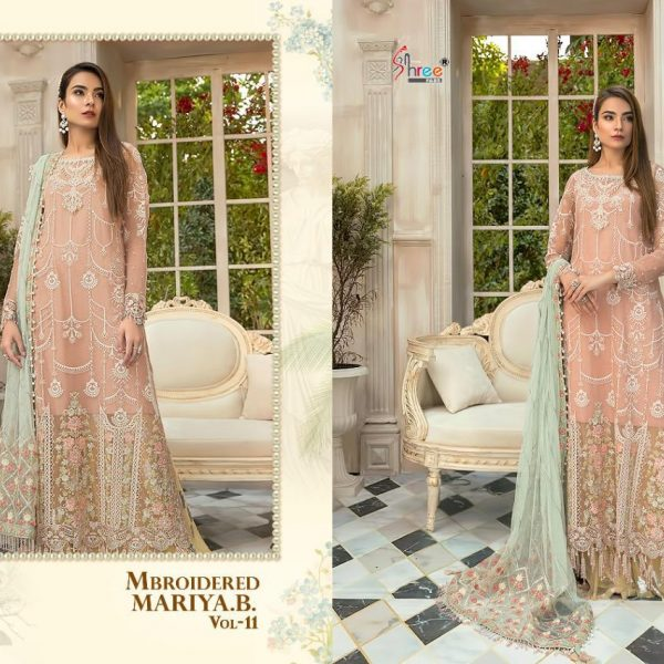 SHREE FABS MBROIDERED MARIYA B VOL 11 1260