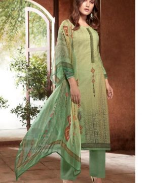 PRM TRENDZ  NAWAZISH PASHMINA SUITS IN SINGLE PIECE