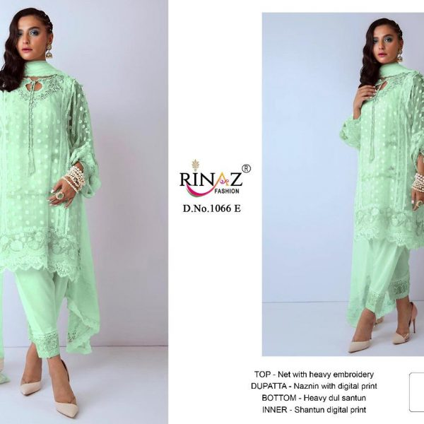 RINAZ FASHION 1066 PAKISTANI SUITS1