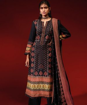 SAHIBA WINTER SQUARE PASHMINA SUITS IN SINGLE5