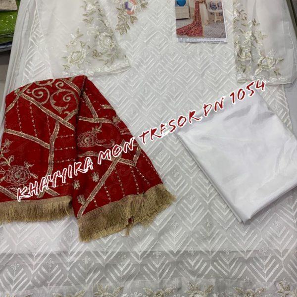 KHAYYIRA MON TRESOR 1054 PAKISTANI SUITS WHOLESALER