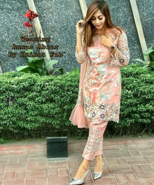 KAINAT FAB ANNUS ABRAR PAKISTANI SUITS SINGLE PIECE