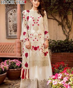 HOOR TEX 17017 PAKISTANI SUITS IN SINGLE PIECE
